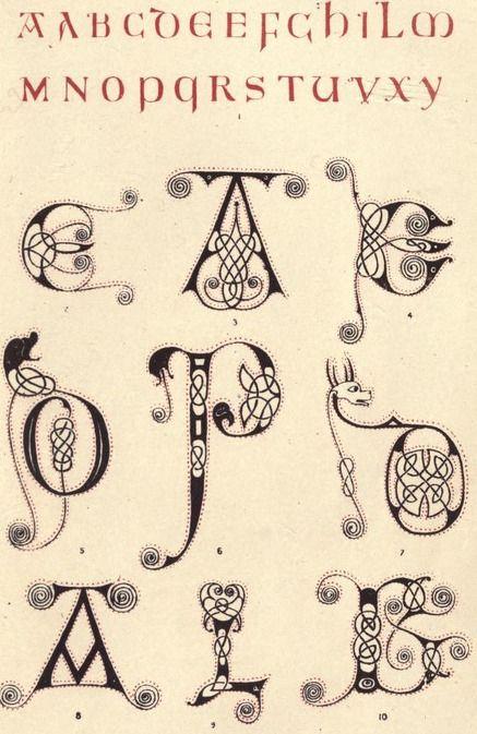 alphabet dating examples