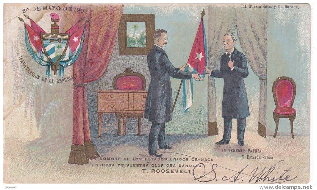Resultado de imagen para foto del 20 de mayo de 1902 en cuba