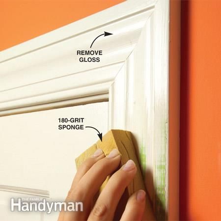 How to Prepare Wood Trim for a Smooth Wood Paint Job | Woods ...