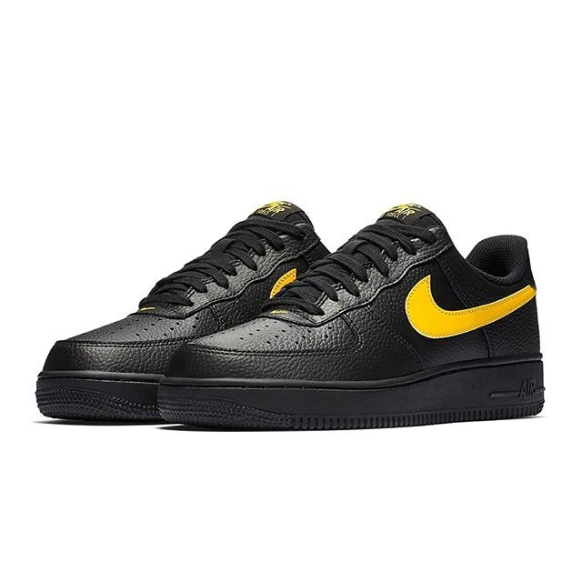 """buy online b3893 e31b6 Nike introduces the Air Force 1 Low """"Black Leather"""" Pack Follow  HypeMonsterz for more Dope pics . HypeMonsterz"""