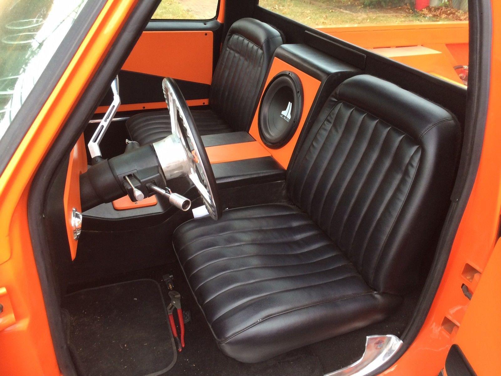 1985 Chevy C10 Custom Air Bagged Pro Street Custom Car Interior Chevy C10 Truck Interior