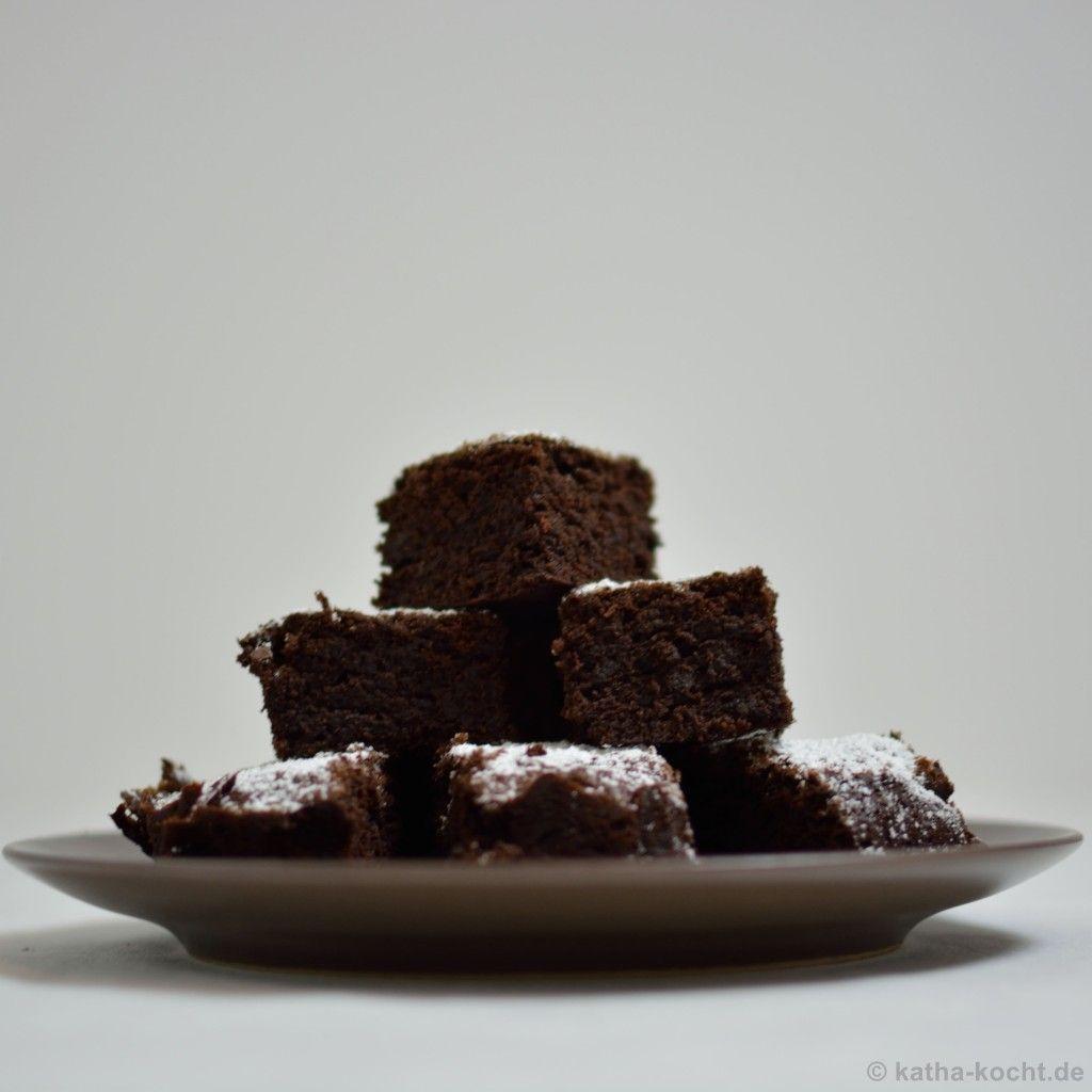 Super dunkle Schoko-Brownies - katha-kocht!