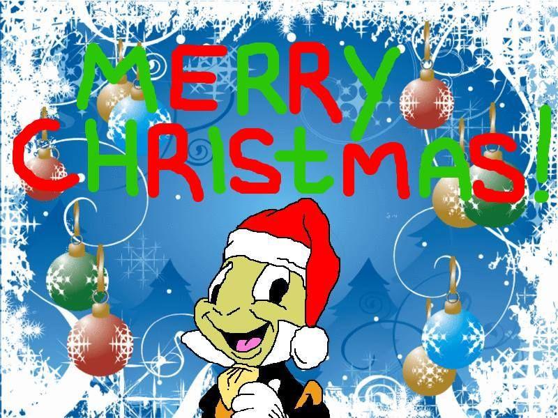 a merry christmas with jiminy cricket | To RyougaLolakie, Merry Xmas ...