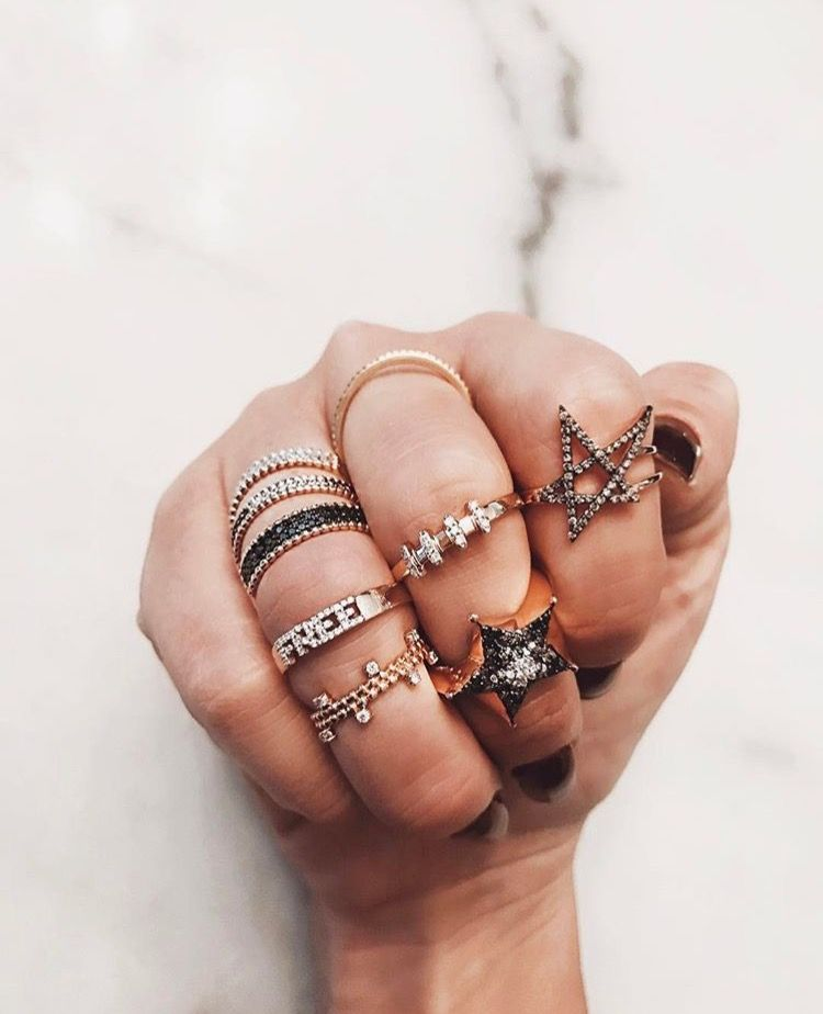 rings rings rings //pinterest: juliabarefoot