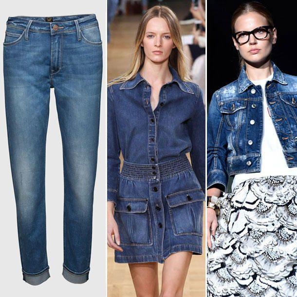 Die Skinny Jeans haben wir satt! Stattdessen freuen wir uns diesen Herbst auf neue Weiten und dunkle Farben. Weitere Inspirationen zum neuen #Jeans-Trend gibt es hier: http://www.cosmopolitan.de/jeans-2015-die-coolsten-denim-trends-die-neue-slimmy-jeans-63110.html