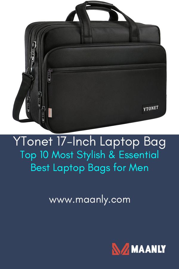Ytonet 17 Inch Laptop Bag Travel Briefcase With Organizer Expandable Large Hybrid Shoulder Bag Water Resistant 17 Inch Laptop Bag Laptop Bag Laptop Bag Men