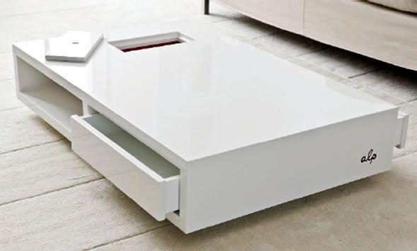 Contemporary Furniture Coffee Table Storage Alp By Annick L Petersen «  Contemporary Furniture « Products « DesignWagen