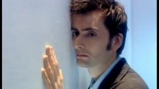 """""""Rose sheds tears, of course, but the Doctor has no tears.  Every depth of the tragedy is buried in his eyes.  The look of utter devastation in Tennant's eyes is stunning.  Every day of his millenial life is etched across his face.  It's a man defeated and alone, more alone than any can imagine.  Again."""""""