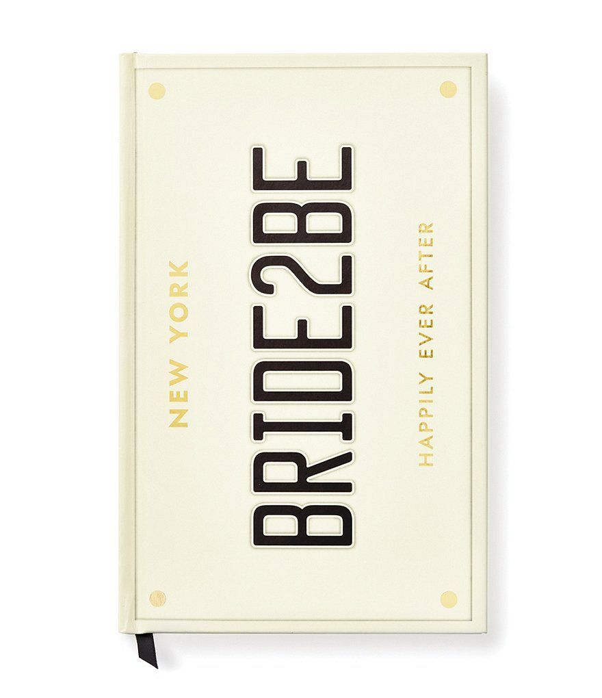 Kate Spade New York Bridal Collection Wedding Planner Dillard S In 2020 Kate Spade Bridal Wedding Notebook Engagement Gifts