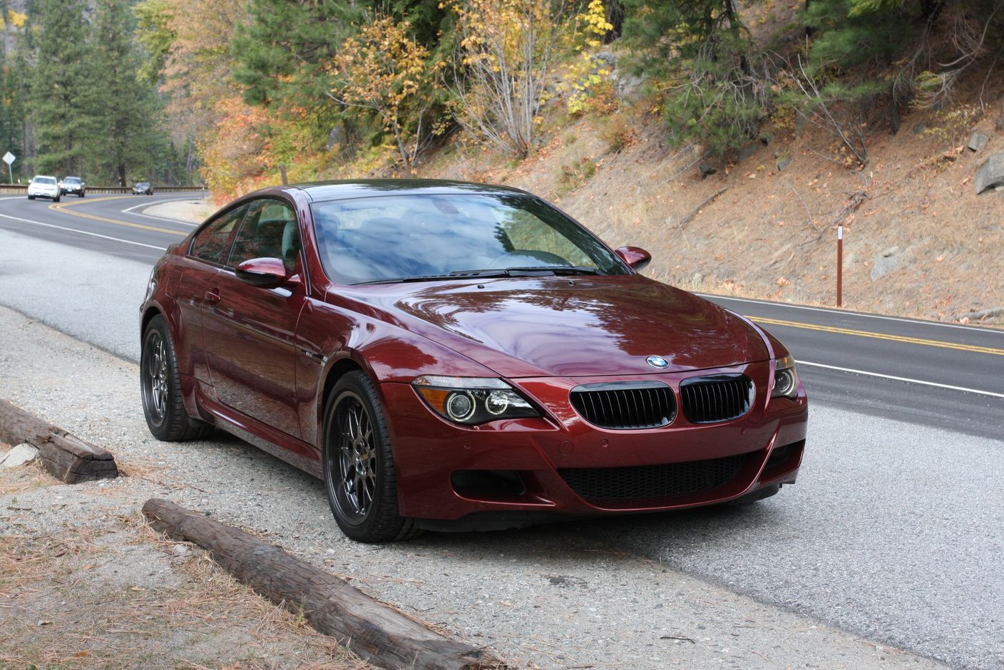 BMW M6 Coupe   In Burgundy (Indianaplois Red) With BBS Wheels   Now This