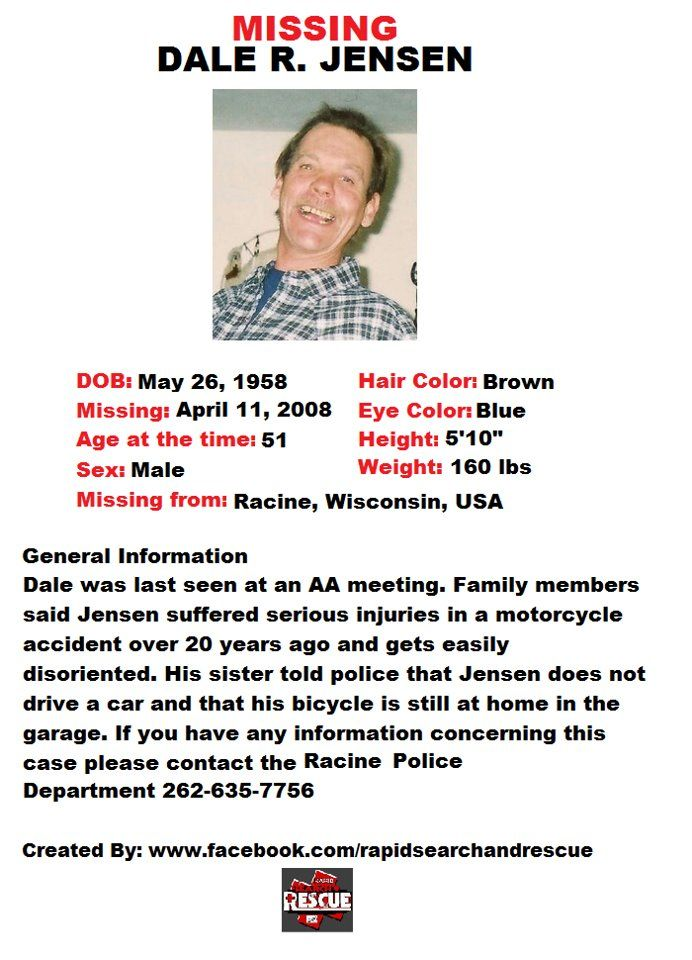 Pin By Rapid Search And Rescue On Wi Missing Persons 2000s
