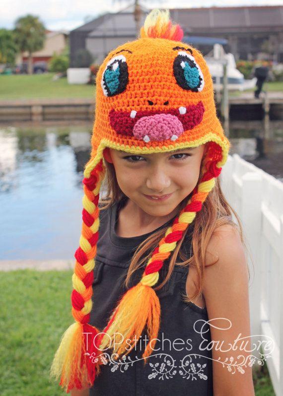 Pokemon Charmander Crochet Pattern PDF by TOPstitchesCrochet | Borse ...