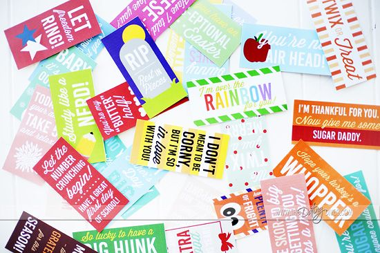 Dating Divas Candy Tags