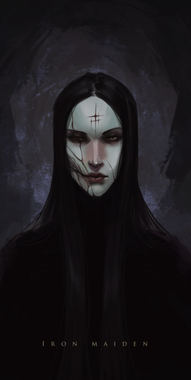 The Iron Maiden by Banished-shadow | Creatures from Dreams