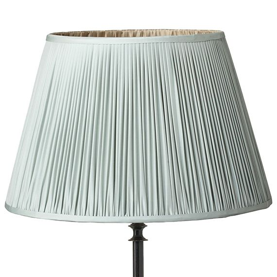 Silver Lamp Shades Classy 56Cm Pleated Silk Taffeta Empire Lampshade  Silver Lamp Lampshades Design Decoration