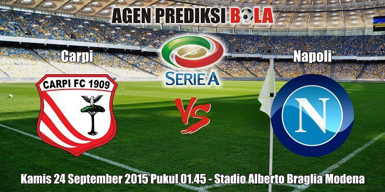 Prediksi Bola Carpi vs Napoli 24 September 2015