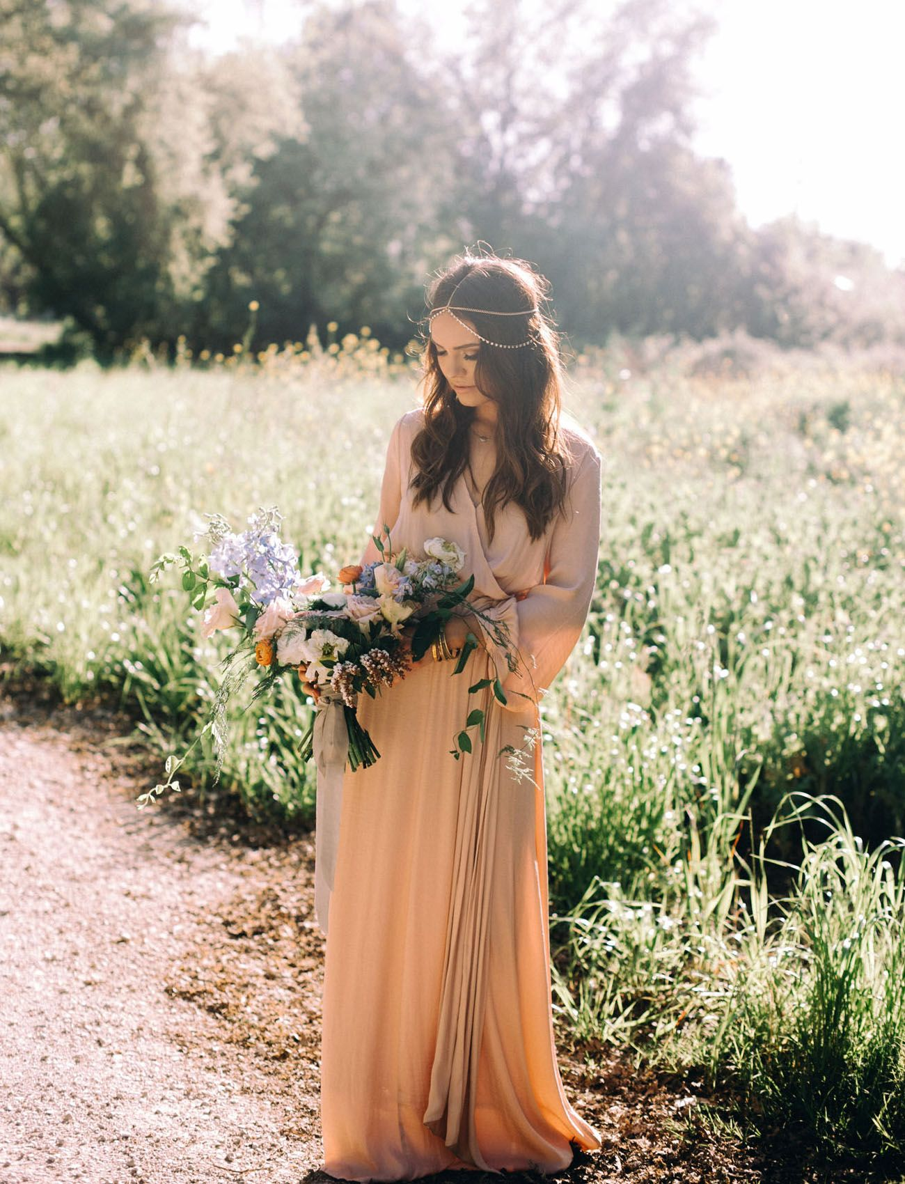 Barefoot bohemian an intimate moroccaninspired vow renewal