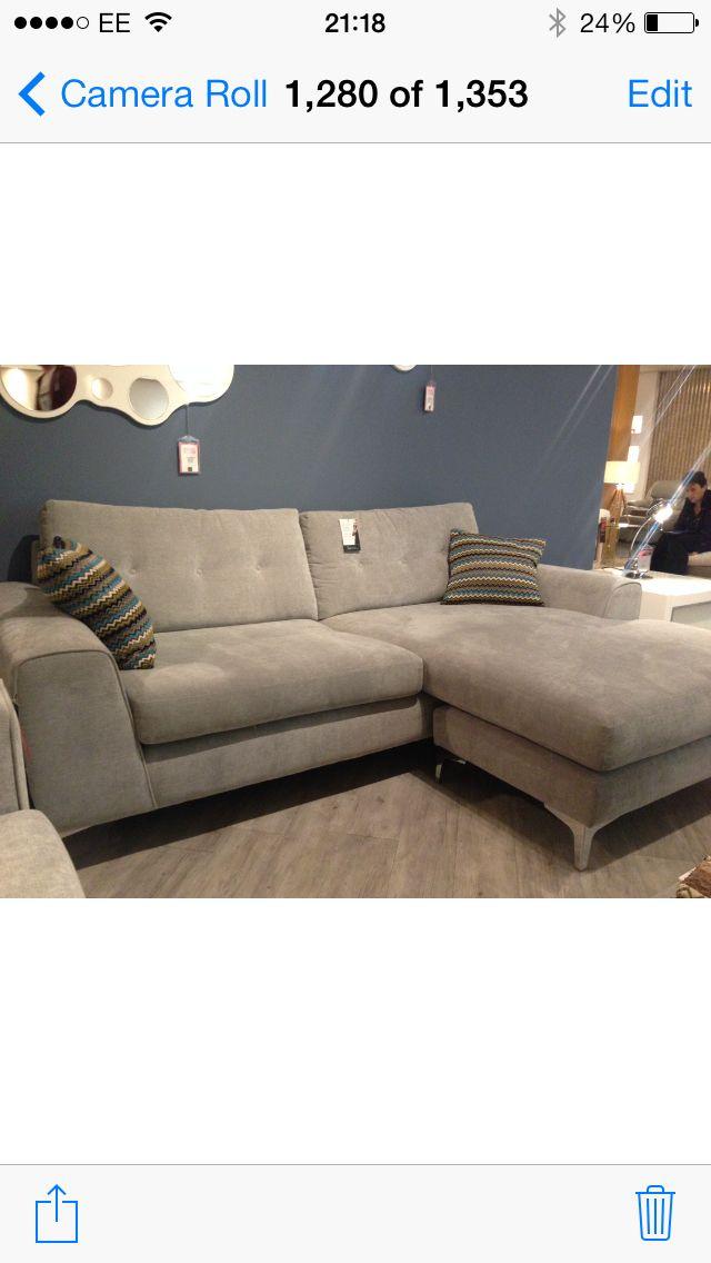 Demure Silver Grey Sofa