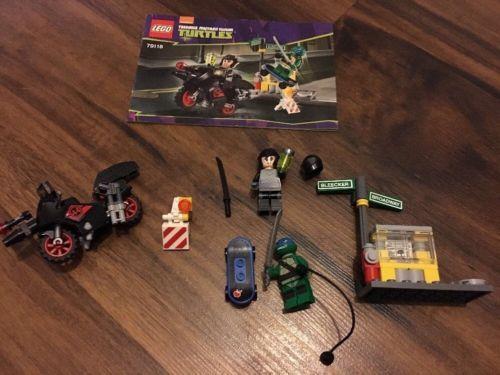 Lego Teenage Mutant Ninja Turtles 79118 Complete With Minifigures