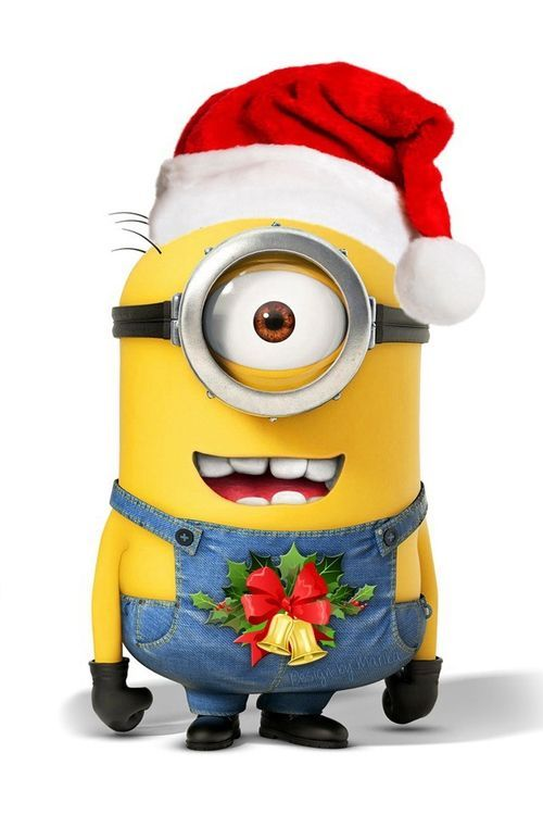 happy christmas everyone theminiondavecom cute minions happy minions minion meme - Minions Christmas