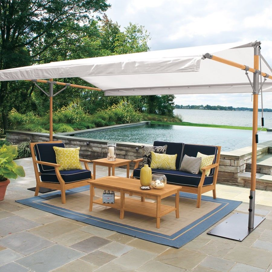 Outdoor Pavilions   Eucalyptus 13 Ft. By 9 Ft. Pavilion | Country Casual