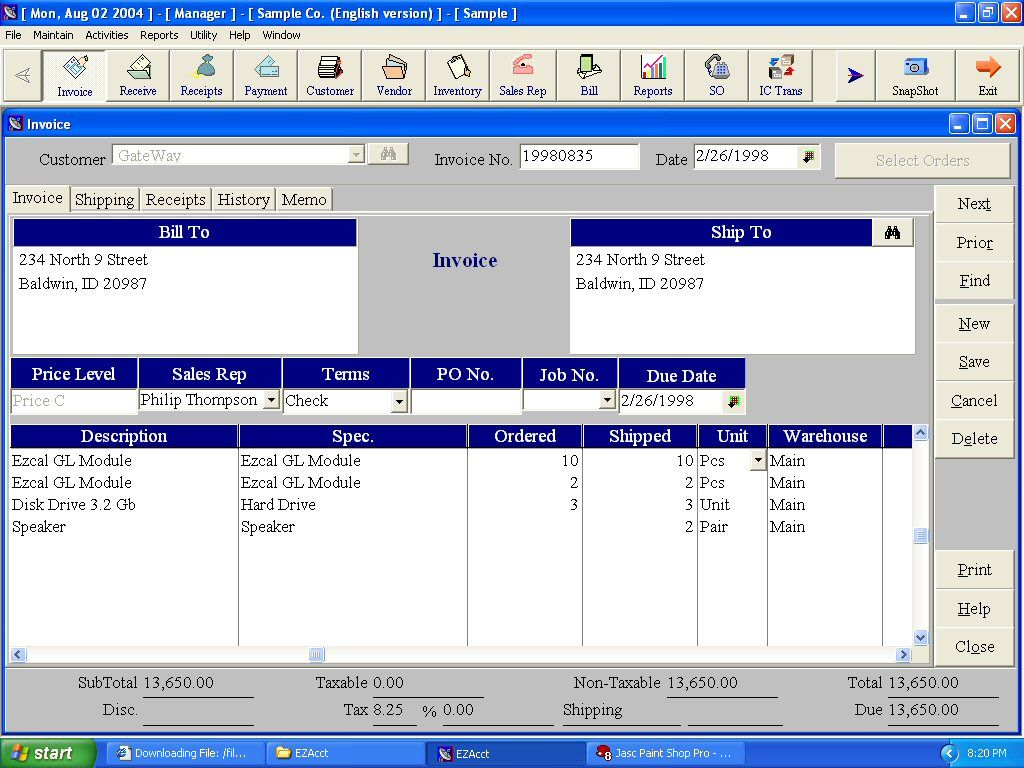 free accounting software free download full version