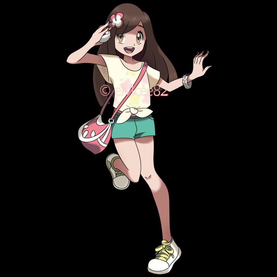 request original pokemon trainer female by emcee82 pokémon