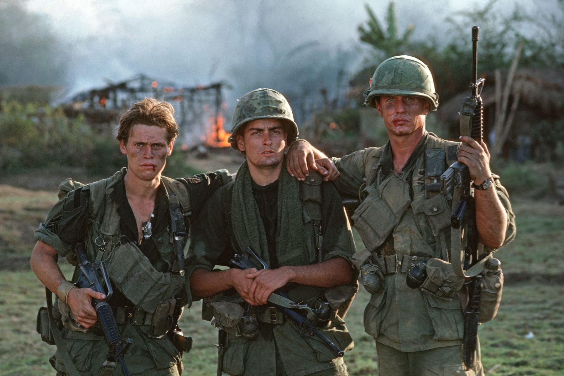 Image result for platoon actors exhausted