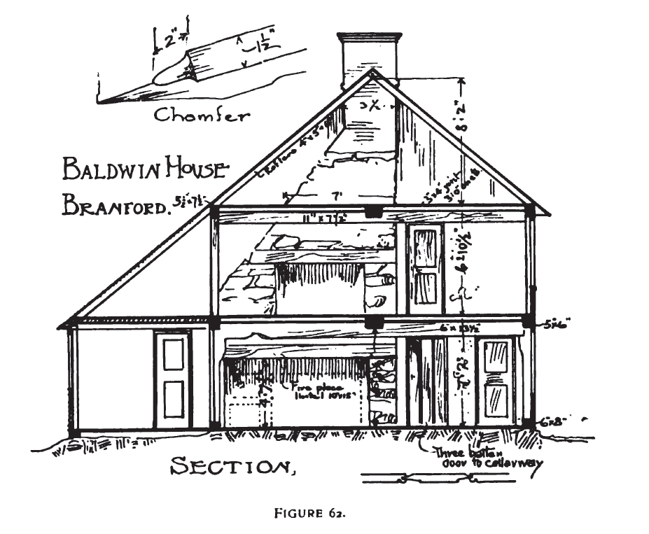 New england saltbox primer birmingham point ansonia ct for Two story saltbox house plans