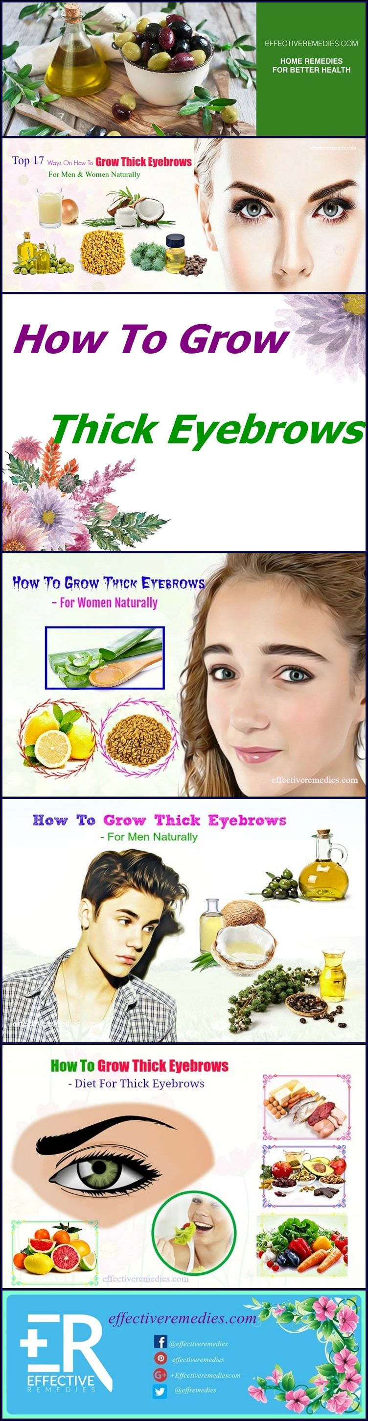 17 best ways for men women to make eyebrows thicker