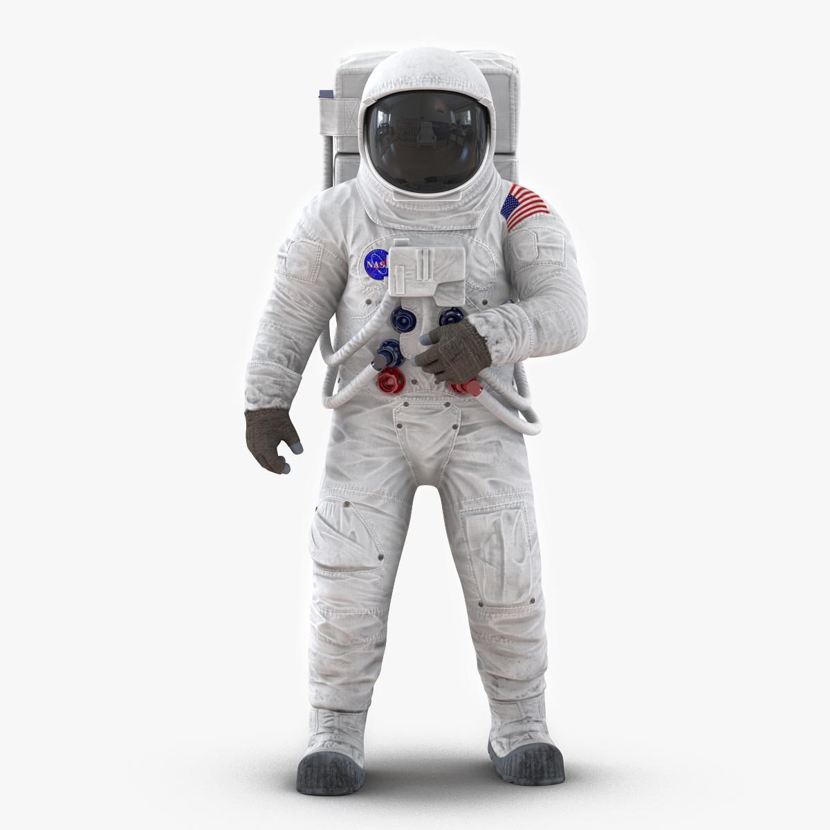 Astronaut Nasa Wearing Spacesuit A7l Pose 2 3d Model Ad Wearing Nasa Astronaut Spacesuit Space Suit Astronaut Nasa