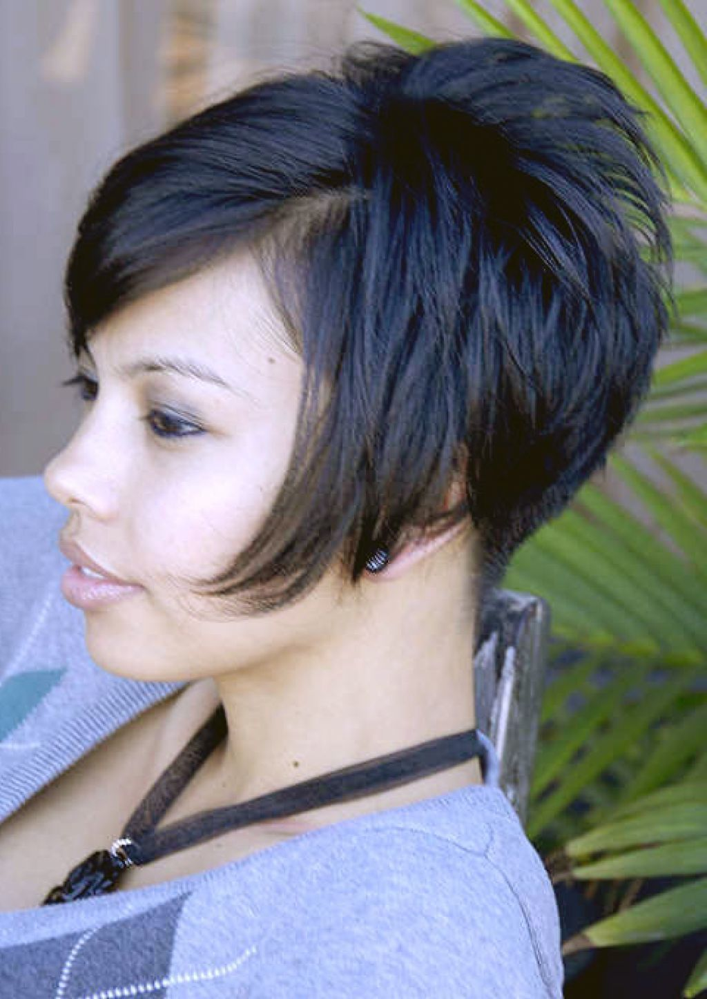 Hairstyles Short Stacked Bob Hairstyles Back View Beauty Short