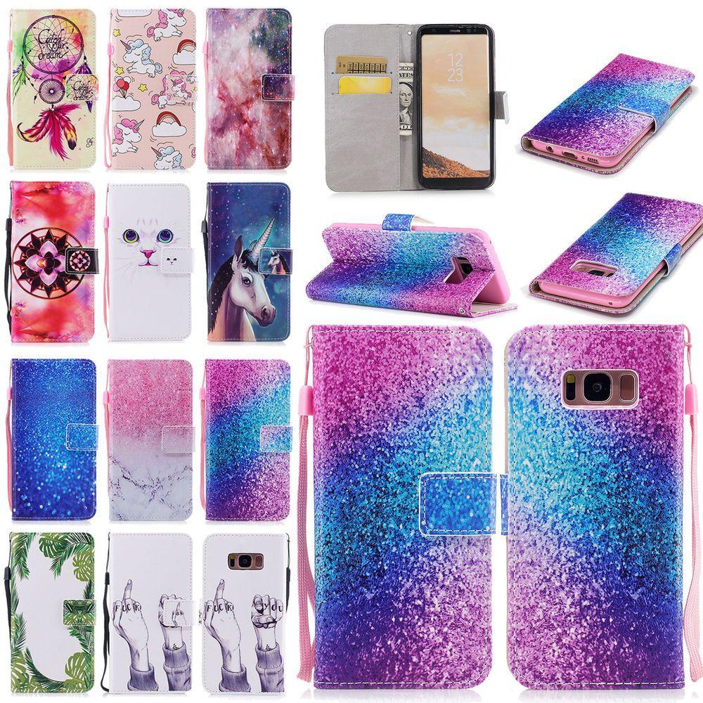 Handy Hulle Fur Samsung Galaxy S7 S7 Edge S8 S8 Plus Case Schutzhulle Cover Etui Handy Etui Cover