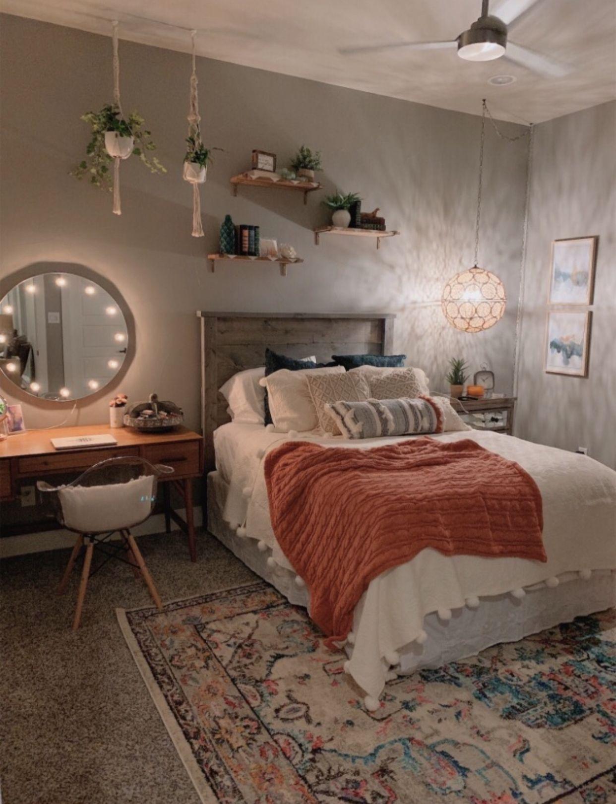 cute bedroom  #décorationmaisoncocooning