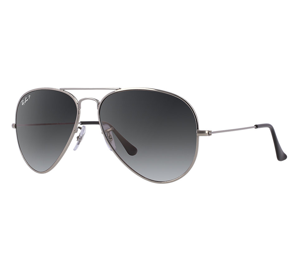 ab4dd71798 AVIATOR TITANIUM POLARIZED Grey Gradient