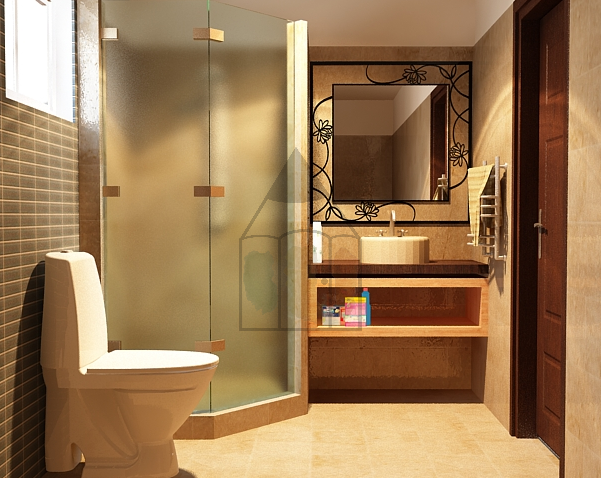 Pakistani Bathroom Design Is Simple And The Design Of Tiles Is Even Available In Smaller Ci Washroom Design Simple Bathroom Designs Small Space Bathroom Design