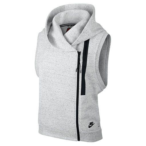 nike fleece vest women's