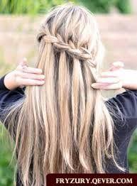 Modne Fryzury Młodzieżowe Warkocz Szukaj W Google Hair