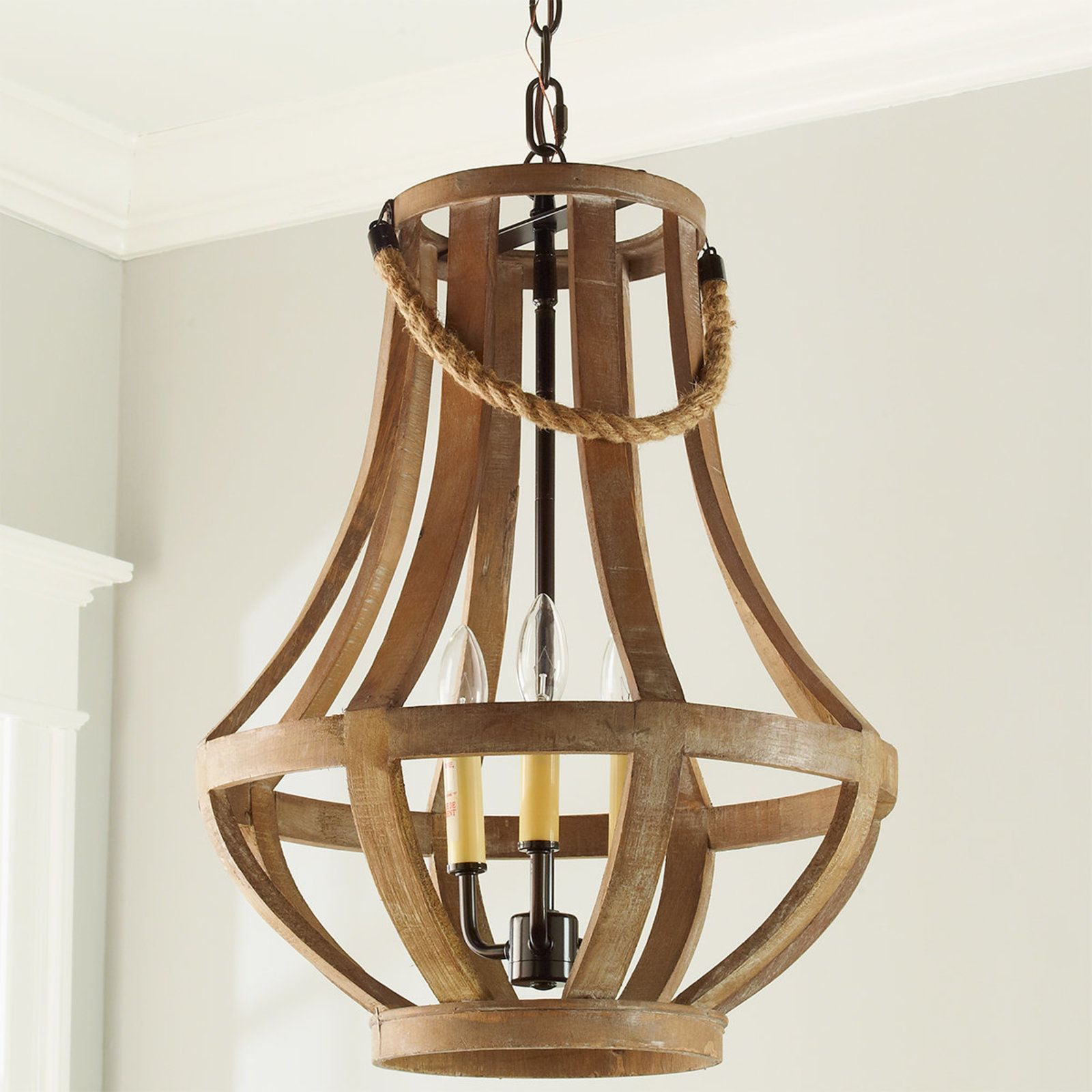 Napa distressed wood chandelier bronze wood master