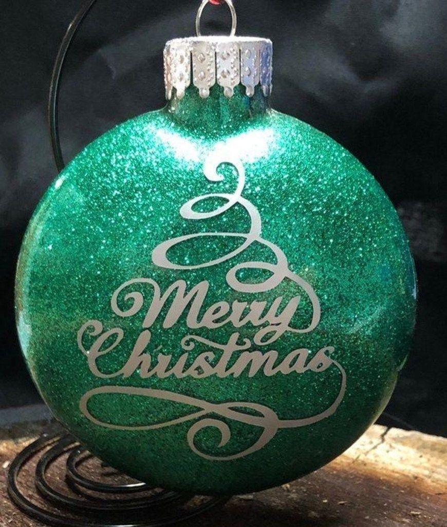 48 Attractive Christmas Balls Ideas 8211 Christmas Ornaments Homemade Vinyl Christmas Ornaments Christmas Ornaments Homemade Christmas Ornaments