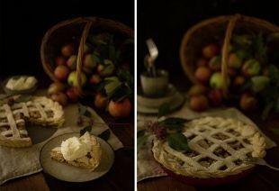 Apfelernte: Gedeckter Apfelkuchen mit Schoko-Cookies und Zim... | Sweet Trolley | Bloglovin'