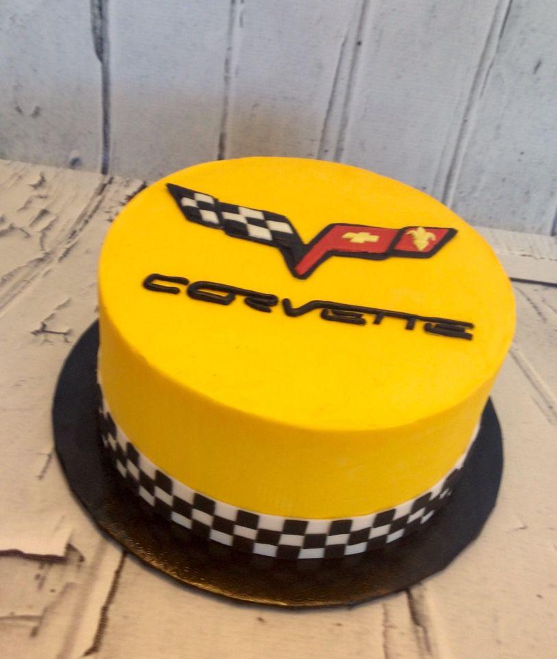 Corvette 50th Birthday Cake Baking Fun Pinterest Birthday