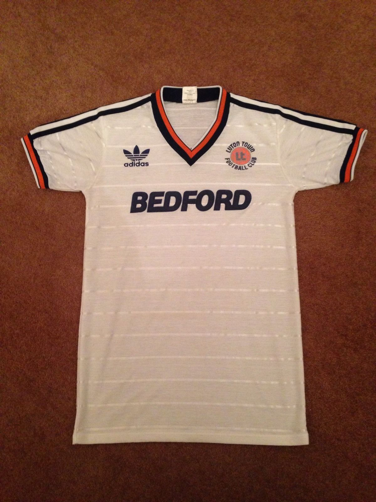 Luton Town Shirt 1985 86 Season (Very Rare)  8440059ed