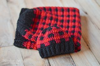 Plaid Baby Cocoon And Hat Set Pattern By Bethany Dearden Hobby