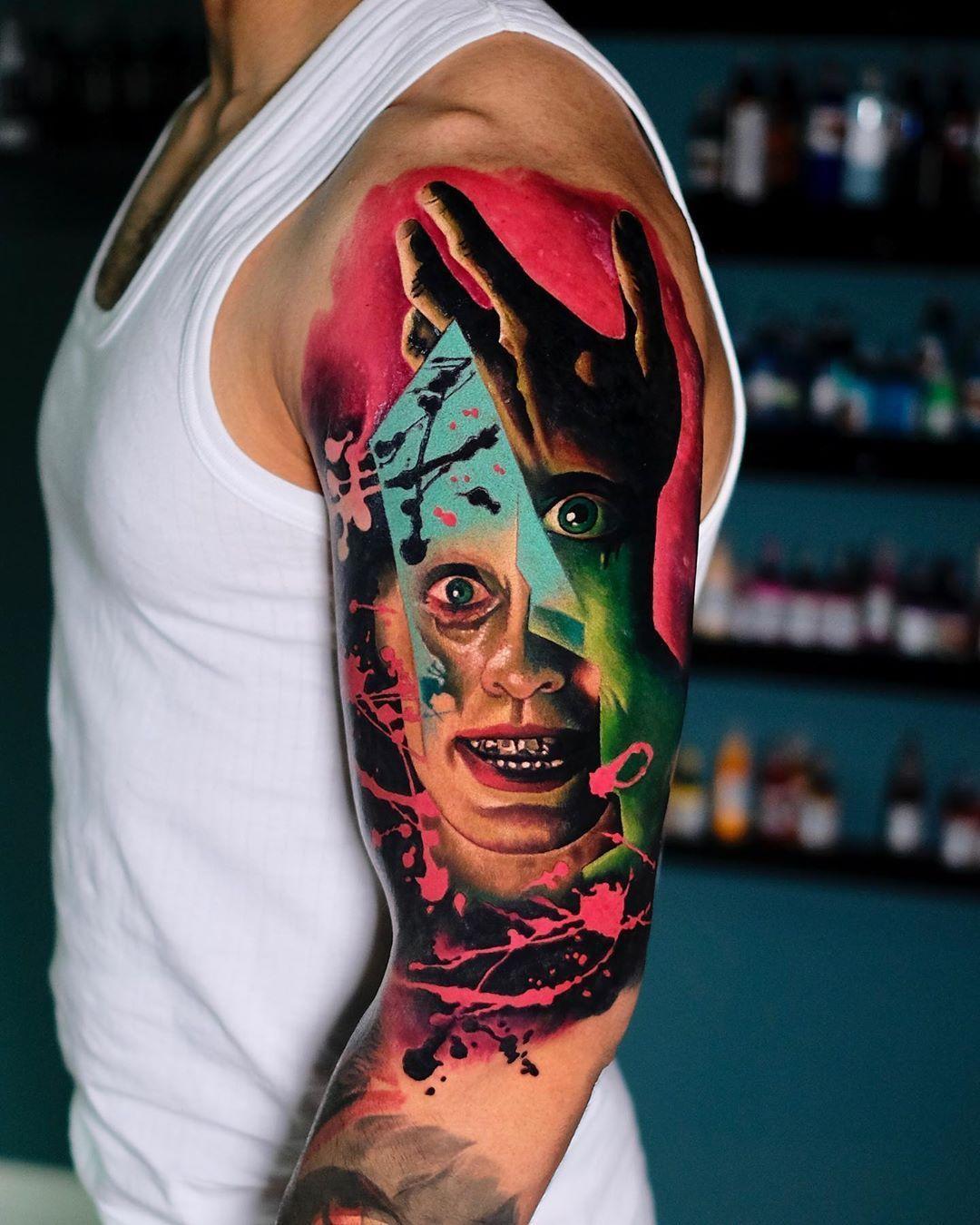 Volkan Demirci Tattoo Artist En 2020 Tatuajes Colores