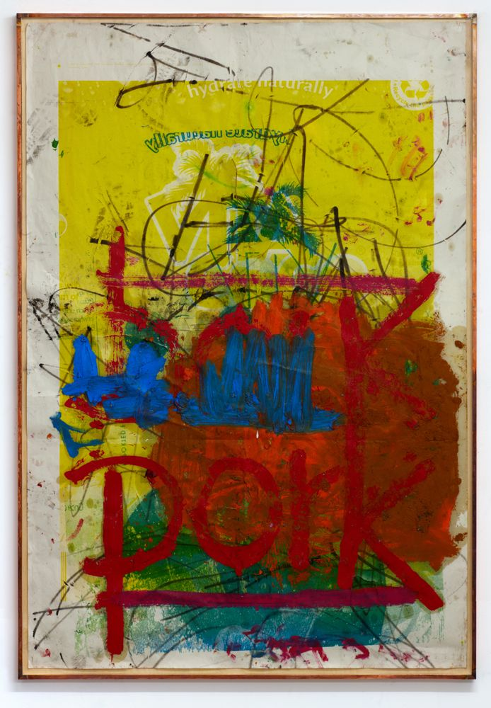 Oscar Murillo - Untitled (la era de la sinceridad), 2013