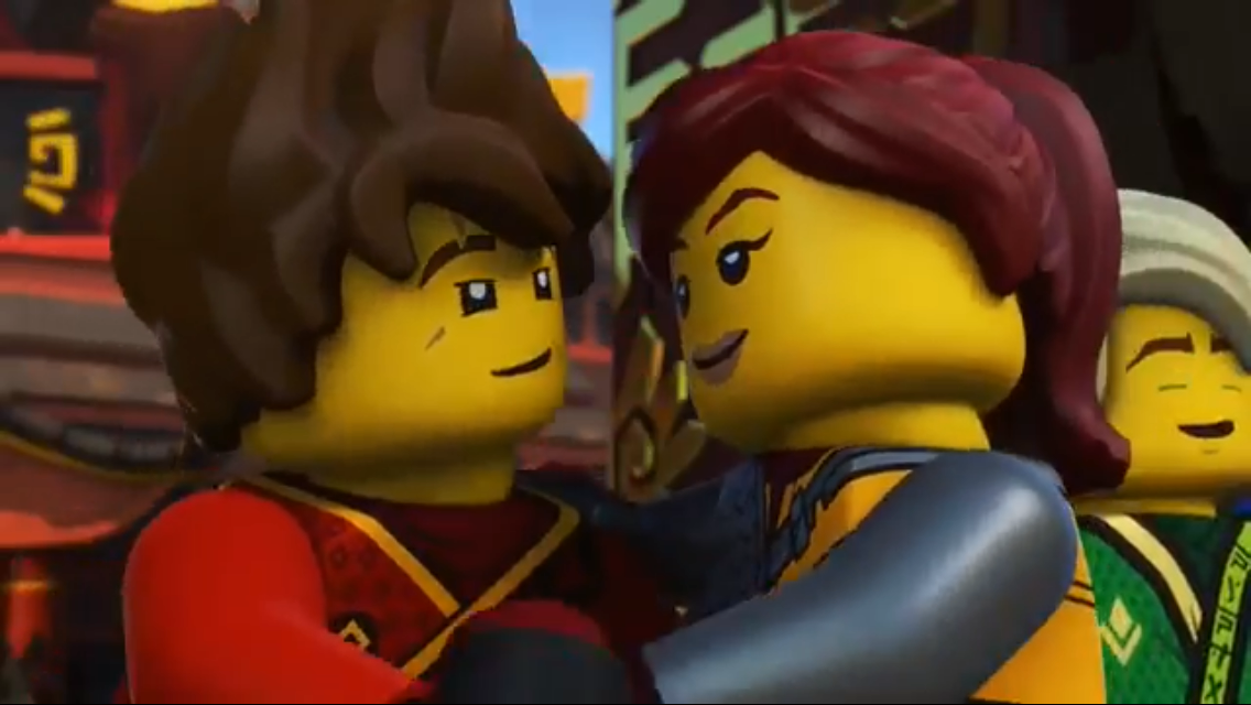 Loving Lloy's face in the background  Lol | Ninjago ships