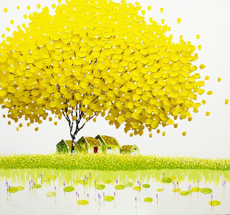 Pittura di paesaggio dai mille colori | Arte