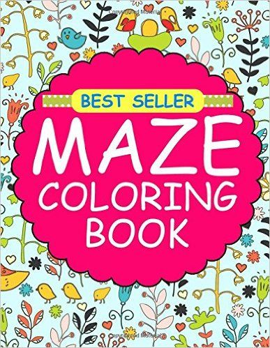 Amazon Maze Coloring Books Book Games Adult