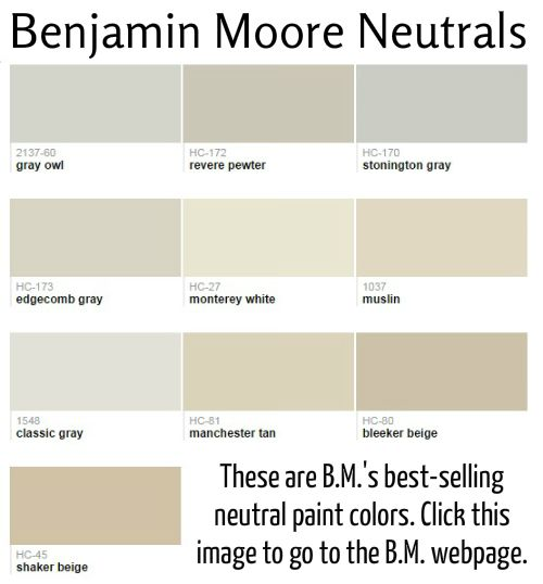 find this pin and more on paint colors popular neutral paint colors from benjamin moore - Neutral Paint Colors Benjamin Moore